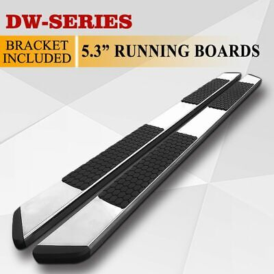 "For 09-17 Chevy Traverse//GMC Acadia 5.5/"" Running Board Side Step Nerf Bar S//S DW"
