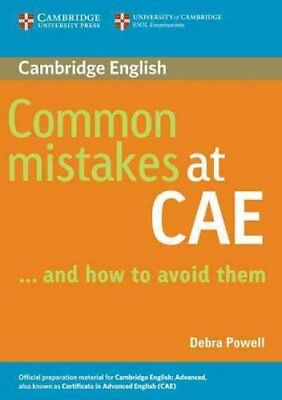 Common Mistakes at CAE...and How to Avoid Them by Debra Powell 9780521603775