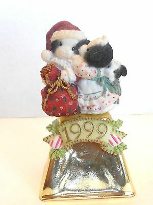 "MARY'S MOO MOOS ""I SAW MOO-MMY KISSING SANTA CLAUS"" #545899 Cow Bell"