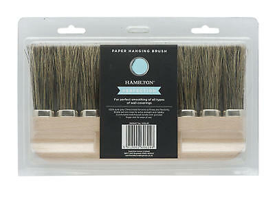 Hamilton Perfection 9 Ring Paperhanging Brush 9 Knot Paper Hanging Brush