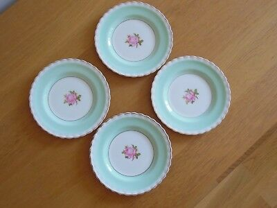 4 x J & G Meakin Sol Tea/side plates with floral Pattern approx 7 ins diameter