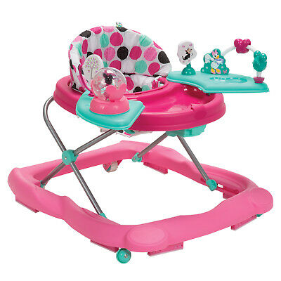 Disney Baby Ready Set Music and Lights Walker Minnie Mouse Dottie