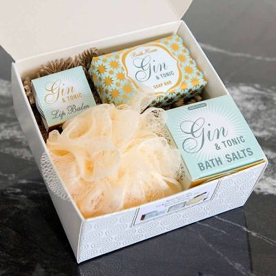 Cocktail Gin & Tonic G & T Collection Gift Box Set by Bath House