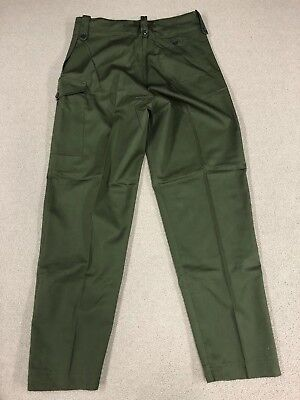 Scarce British Army Trouser Overall Green - Size 9 (X-Large) - NOS