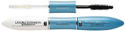 Loreal Double Extension Waterproof Black Schwarz Neu