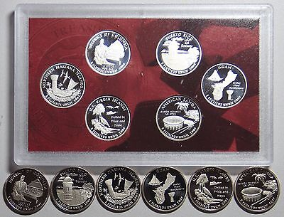 2009 S Us & Territories Clad & Silver Proof Coins-all 12!