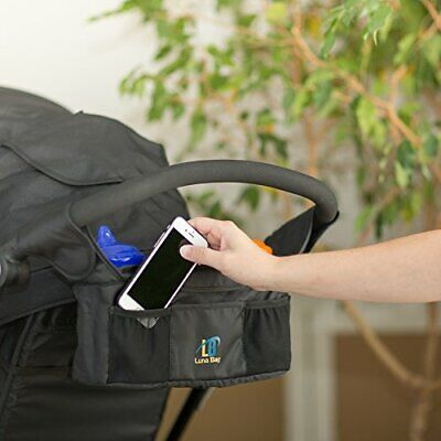 Stroller Organizer by Luna Bag - Magnetic Closure System, High Quality Accessory