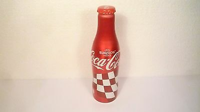 Coca Cola --- CROATIAN ---  ALUMINIUM FULL BOTTLE --- EURO 2016 FRANCE --- NEW