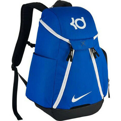 51470c404de6 NIKE KD KEVIN DURANT MAX AIR ELITE Backpack Blue Black White BA5394 ...