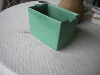 True Vintage Green Colored Haeger Planter Made in the USA # 3711