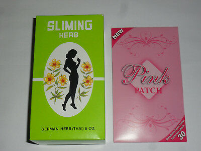 Slimming Tea Bags + PATCHES fast acting Lose Weight  DETOX TEA  Diet slim patch