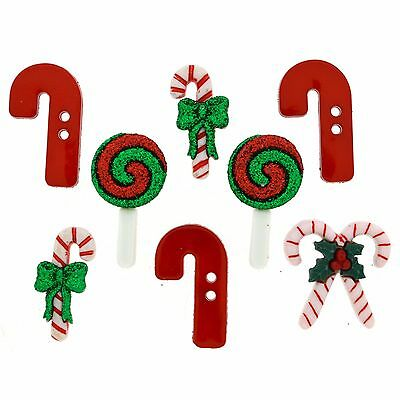 Christmas Candy cottage  #16 craft Scrapbooking Dress it up Buttons