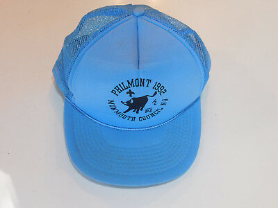 Boy Scout Philmont 1992 Monmouth Council New Jersey Snap Back Baseball Hat Cap