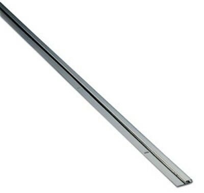 """Stainless Steel Cap Strip for 1/16"""" Material - 7ft Long - Bright Finish"""