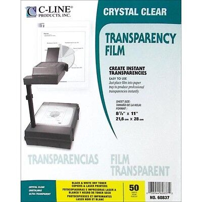 C-Line Clear Transparency Film