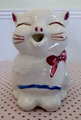 Vintage 1940's Shawnee Puss N' Boots Creamer; EXCELLENT TO MINT CONDITION