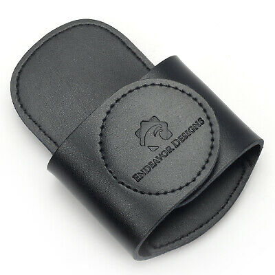 SeCURE-a-SCOPE Universal Stethoscope Holder Clip Holster - Genuine Leather