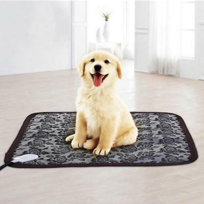 110V Electric Pet Dog Cat Blanket Heating Pad Waterproof Warm Heater Mat Cushion