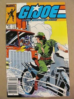 GI Joe A Real American Hero #44 Marvel Canadian Newsstand $0.95 Price Variant