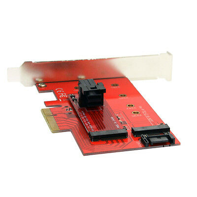 PCI-E 3.0 x4 Lane Host Adapter M.2 NGFF M Key SSD to U.2 U2 Kit SFF-8639