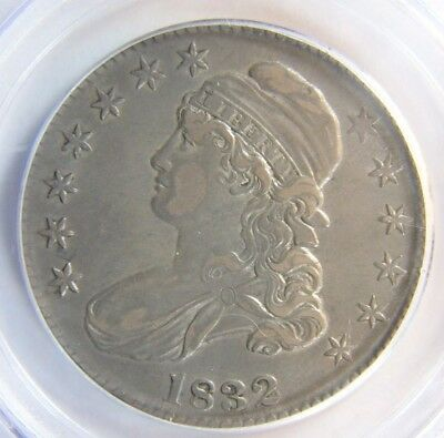 1832 Small Letters Capped Bust Half Dollar  PCGS XF 45 Cert# 13264736 REDUCED