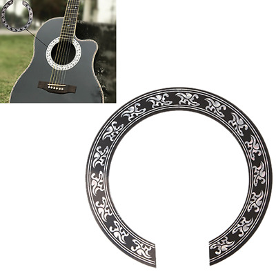 ... Circle Sound Hole Rosette Inlay for Acoustic Guitars Decal Source Guitar Decal Accessory 3839inch intl Source