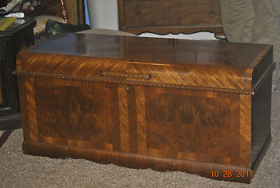 PICK UP ONLY Vintage Lane 1949 Waterfall Style Cedar Hope Chest
