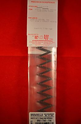 10/% Extra Power Browning Hi-Power 1935 9mm Wolff Pistol Magazine Spring 3 pack