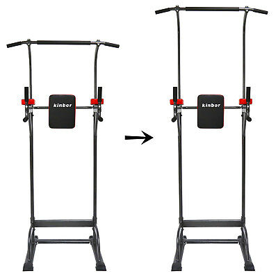 Kinbor Home Power Tower Strength Exercise Fitness Pull Up Station Gym Workout