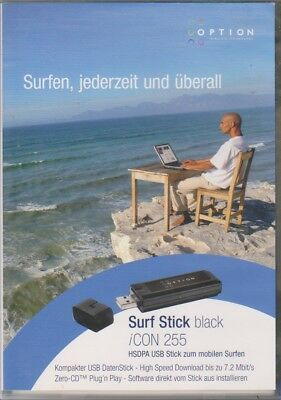 Surfstick black ICON 255 HSPDA Option ( OHNE SIMLOCK )