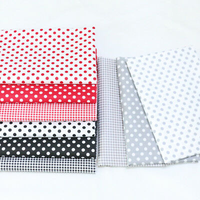 One PCS Cotton Fabric Pre-Cut Cotton cloth Fabric for Sewing Dot A3