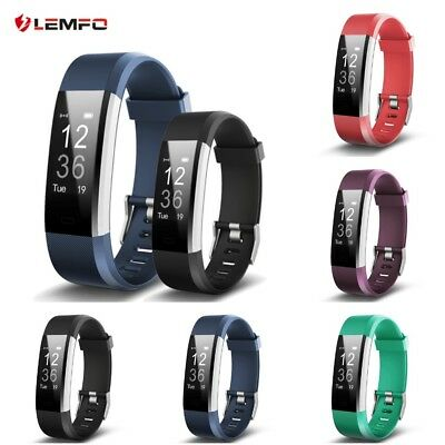HR Plus Smart Bracelet Fitness and Sleep Tracker Pedometer Heart Rate Monitor Us