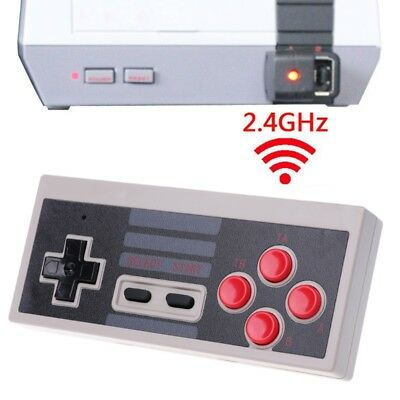 2.4GHz Wireless 5M Receive Game Mini Controller Gamepad For NES Classic Edition