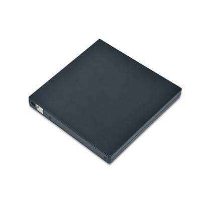 External USB 2.0 DVD Drive CD RW Writer Burner Reader Player Case For Laptop PC