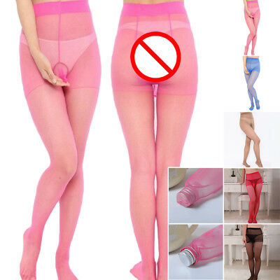 Sexy Men's Penis Sheath Underwear Lingerie Sissy Pouch Stocking Pantyhose Solid.