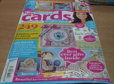 The really special series magazine Make Cards #10 Bumper New 2018 Birthday issue