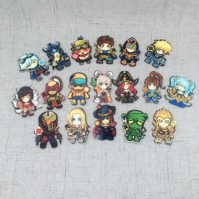 New League of legends Characters Fridge Sticker Refrigerator Magnets Decoration