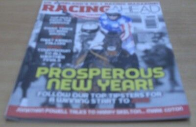 Racing Ahead magazine Jan 2018 Top Tipsters for a prosperous New Year