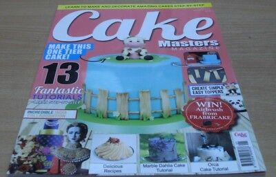 Cake Masters magazine Jan 2017: 13 Tutorials + create simple easy toppers & more