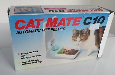 Cat Mate C10 Automatic Timed Pet Feeder For Cats Kittens / Small Dogs Puppy