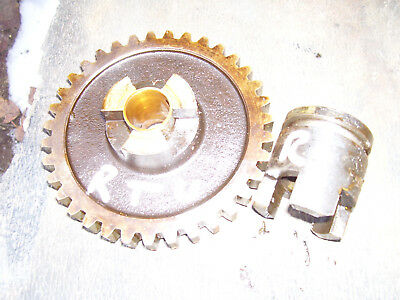 Vintage Minneapolis Moline Rtu  Tractor -Pto Shaft Drive Gear & Collar- 1943