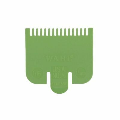 Wahl Clipper Attachment Comb Lime Green - 0.5