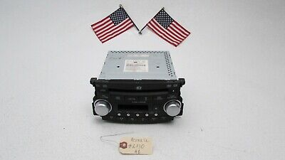 04 05 06 Acura TL Radio Stereo 6 Disc Changer DVD CD Player