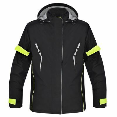 Oxford Stormseal All Weather Motorcycle Bike Over Jacket Waterproof Hi Vis New