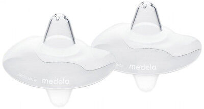 Medela Contact Nipple Shields with Case (Small), 16 mm