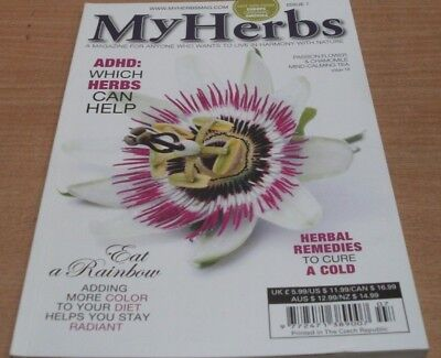 My Herbs magazine #7 2017 Which herbs help ADHD + Herbal Remedies for colds