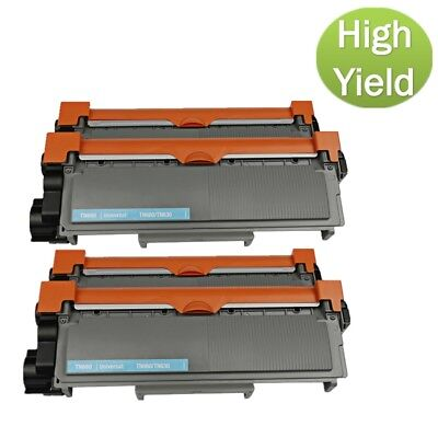 4PK For Brother HL-L2340DW L2720DW L2700DW Ink Cartridge TN660 TN630 Toner