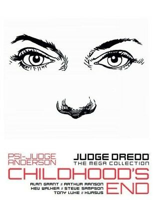 JUDGE DREDD: Mega Collection #34: Psi-Judge Anderson: Childhood's End (Vol 11)