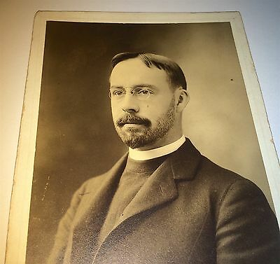 Rare Antique Victorian American Dr Charles Hayes! New England Cabinet Card Photo