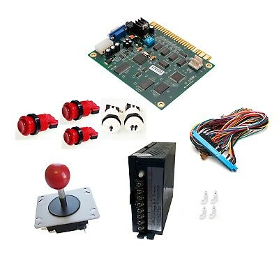 Arcade Classics 60 In 1 Vertical Conversion Kit Buttons Jamma Power Supply &More